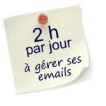 2h par jour à gérer ses emails